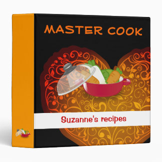 MASTER COOK | your name Binder