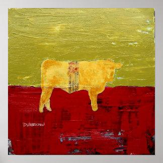 Master Cow, Print