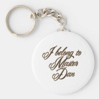 Master Dan Keychain