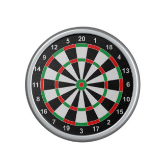Master Darts Board Basic Round Target Classic game Bluetooth Speaker