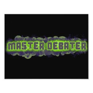 Master Debater Card