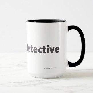 Master Detective Black Mug