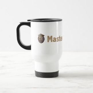 Master Detective Gold 15 Oz Stainless Steel Travel Mug