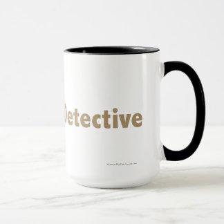 Master Detective Gold Mug