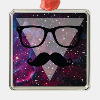Master Disguise Space Funny Face Metal Ornament