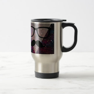 Master Disguise Space Funny Face Travel Mug