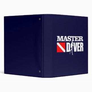 Master Diver 2 3 Ring Binder