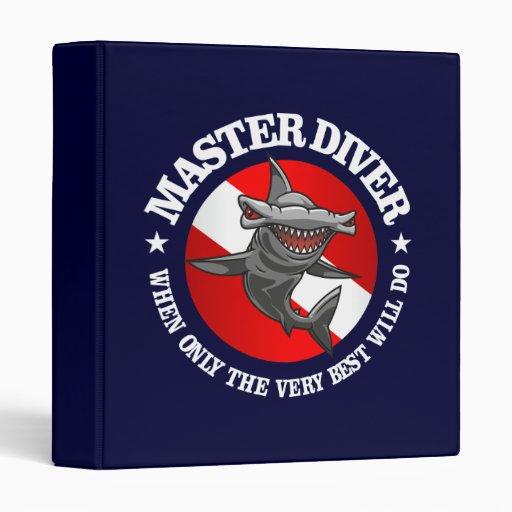 Master Diver (Hammerhead) 3 Ring Binders