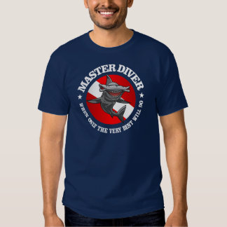 Master Diver (Hammerhead) Apparel T Shirt