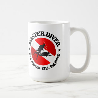 Master Diver (Medallion) Coffee Mug