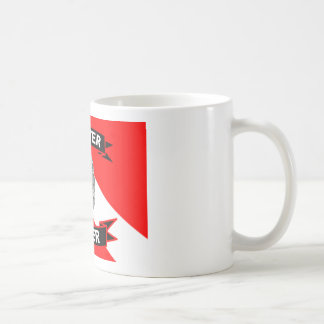 Master Diver Products Classic White Coffee Mug
