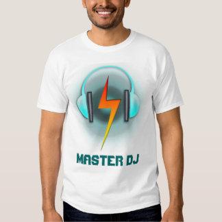 Master DJ Headphones Customize the text T-shirt