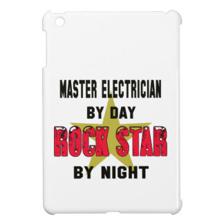 Master Electrician by Day rockstar by night Cover For The iPad Mini