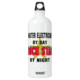 Master Electrician by Day rockstar by night SIGG Traveler 1.0L Water Bottle