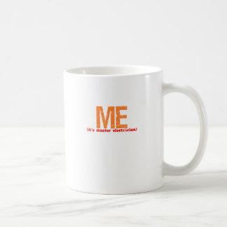 Master Electrician Description Mugs