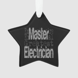 Master Electrician Extraordinaire Ornament
