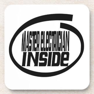 Master Electrician Inside Beverage Coasters