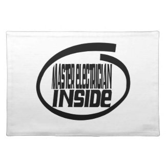 Master Electrician Inside Place Mat