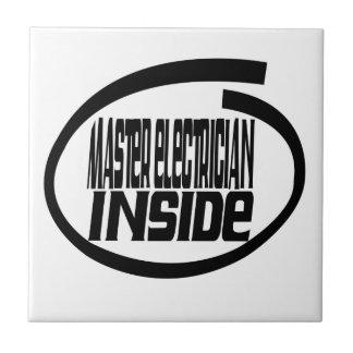 Master Electrician Inside Tiles