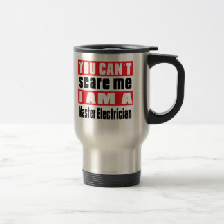 Master Electrician scare designs 15 Oz Stainless Steel Travel Mug