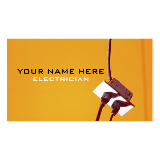 Master Electricians Business Card