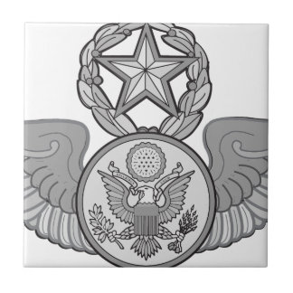 MASTER ENLISTED AIRCREW WINGS CERAMIC TILE