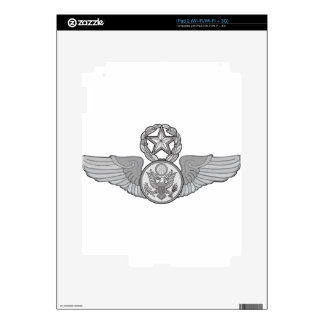 MASTER ENLISTED AIRCREW WINGS DECALS FOR iPad 2