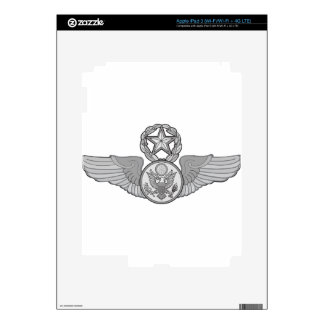MASTER ENLISTED AIRCREW WINGS iPad 3 DECALS