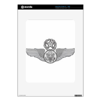 MASTER ENLISTED AIRCREW WINGS iPad DECAL