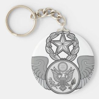 MASTER ENLISTED AIRCREW WINGS KEYCHAIN