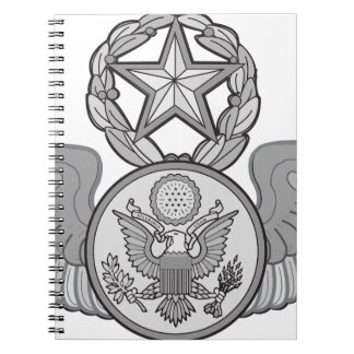 MASTER ENLISTED AIRCREW WINGS NOTEBOOK