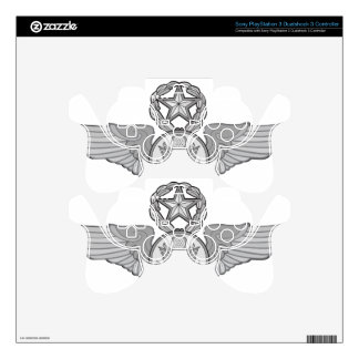 MASTER ENLISTED AIRCREW WINGS PS3 CONTROLLER DECAL