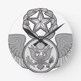 MASTER ENLISTED AIRCREW WINGS ROUND CLOCK