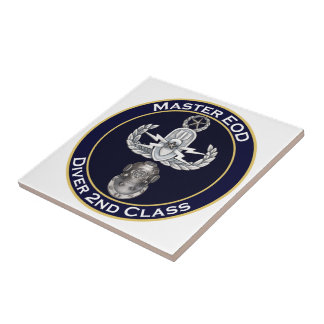 Master EOD 2nd Class Diver Tile