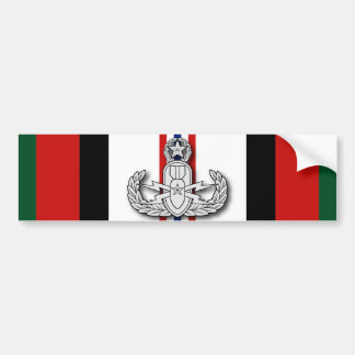 Master EOD Afghanistan Car Bumper Sticker