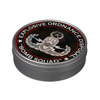Master EOD Bomb Squad Jelly Belly Tin