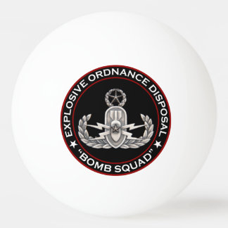 Master EOD Bomb Squad Ping-Pong Ball