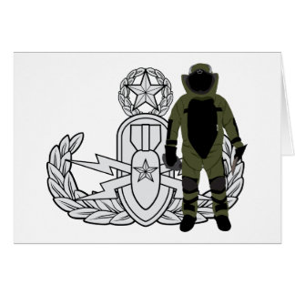 Master EOD Bomb Suit Card