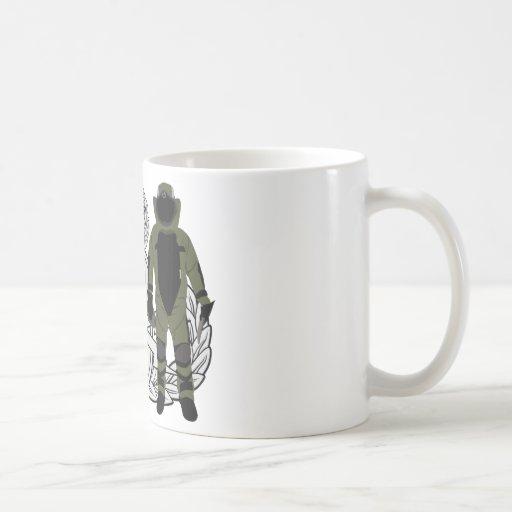 Master EOD Bomb Suit Coffee Mugs
