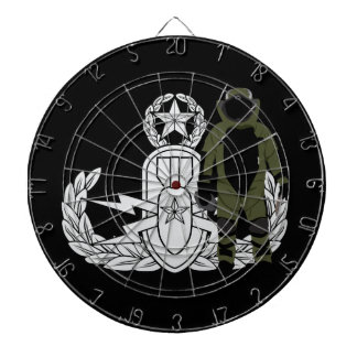 Master EOD Bomb Suit Dartboard With Darts
