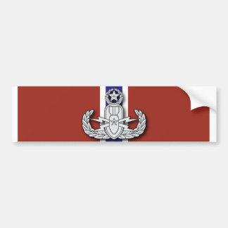 Master EOD Bronze Star Bumper Sticker