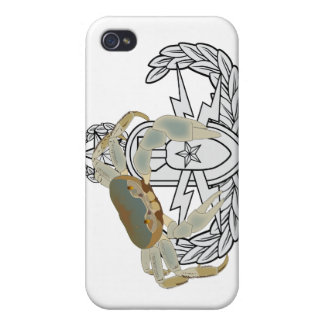 Master EOD Crab iPhone 4 Cover