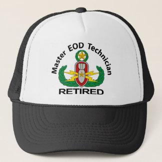Master EOD in color Retired Trucker Hat