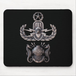 Master EOD Master Diver Mouse Pad