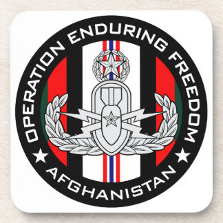 Master EOD OEF Drink Coaster