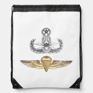 Master EOD Parachutist Drawstring Backpack