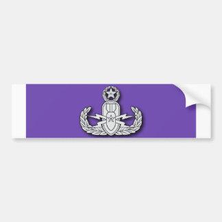 Master EOD Purple Heart Car Bumper Sticker