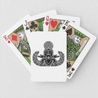 Master EOD stencil Poker Deck