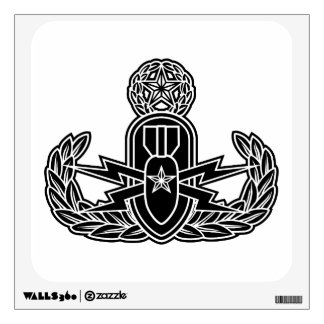 Master EOD stencil Wall Decal