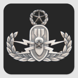 Master EOD Square Stickers